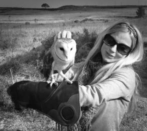 barn owl and shiv